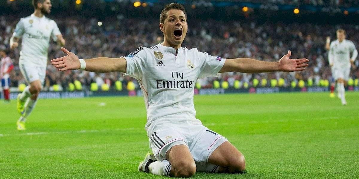 Un día como hoy pero de hace 5 años, Chicharito fichó con el Real Madrid