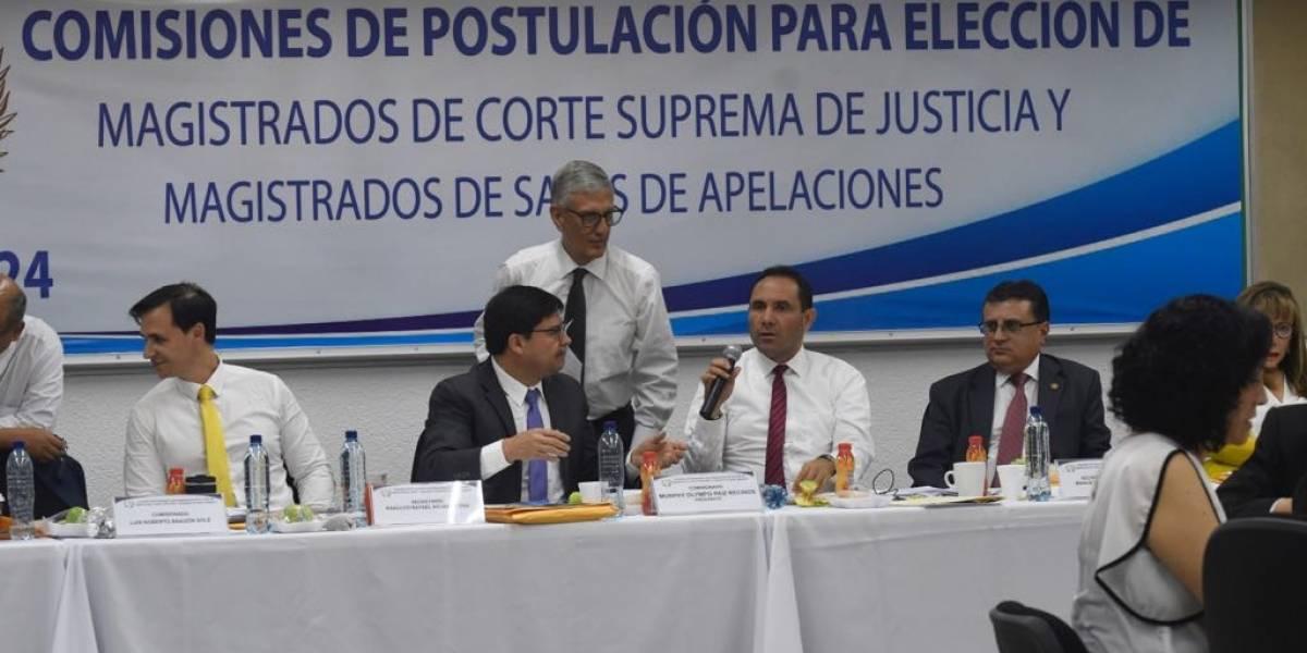 Murphy Paiz pide a la CC que desentrampe proceso de elección de magistrados