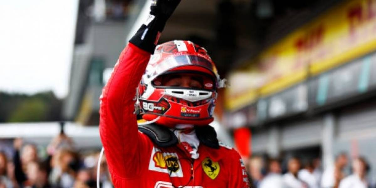 Gran Premio de Bélgica: Charles Leclerc se corona; 'Checo' es sexto