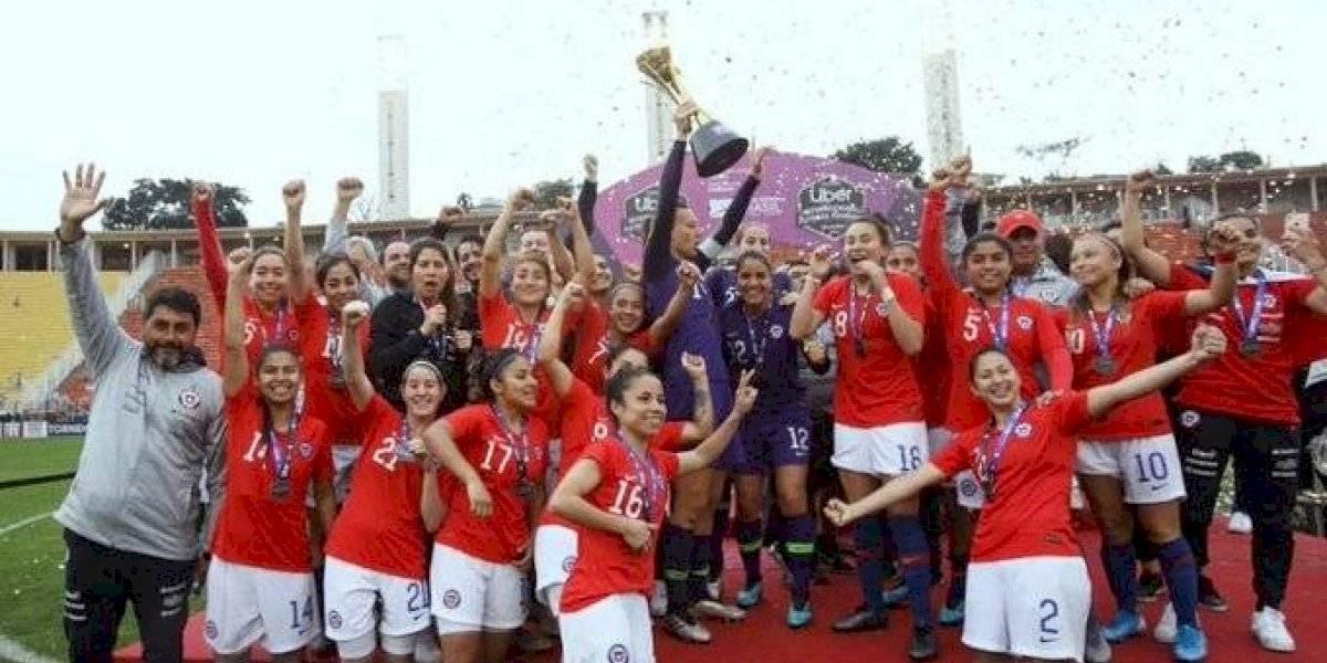 Histórica: La Roja femenina venció en penales a Brasil se coronó campeona de torneo amistoso