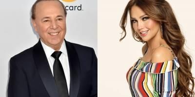 El picante mensaje de Tommy Mottola a su esposa Thalía por candente baile