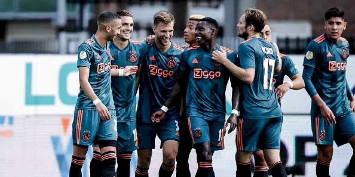 El Ajax, de Edson Álvarez, se mantiene como líder en Holanda