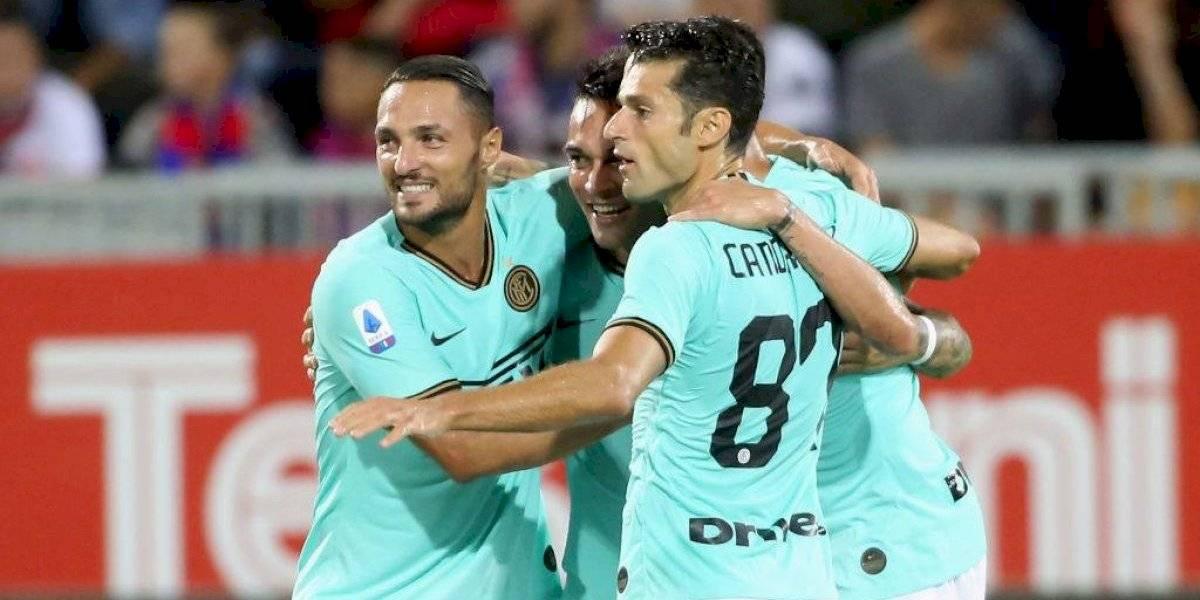 Alexis Sánchez no debuta y se queda en la banca en el segundo triunfo consecutivo de Inter de Milán