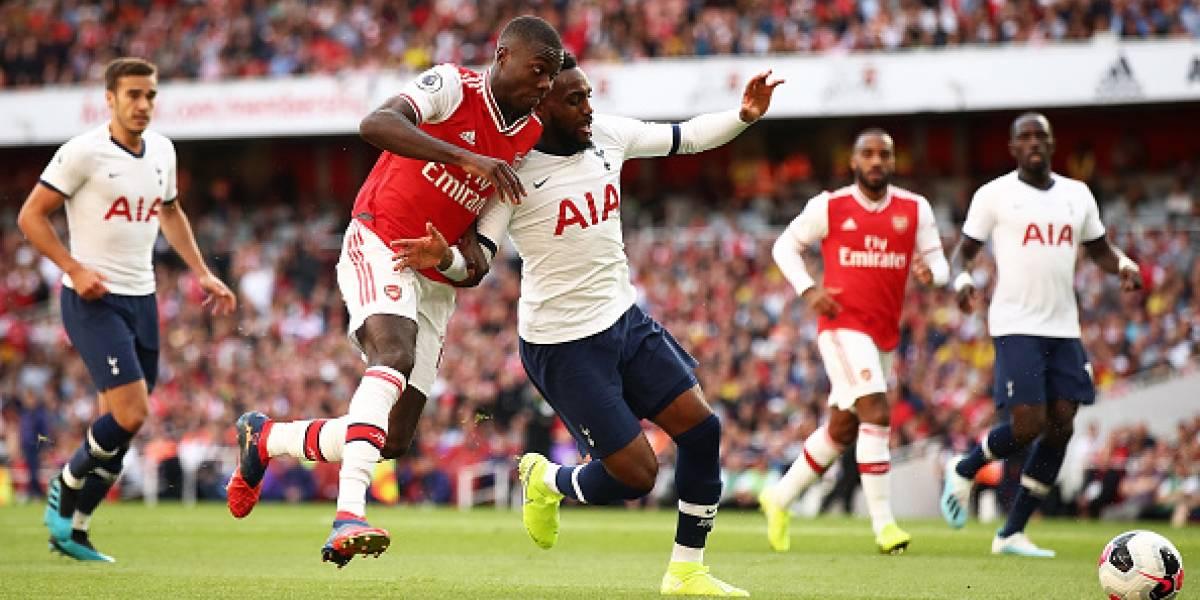 Arsenal remonta y rescata el empate frente al Tottenham