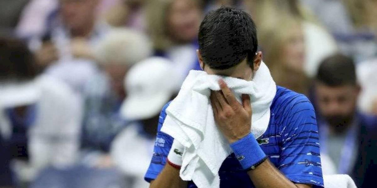 Novak Djokovic se retiró por lesión ante Stanislas Wawrinka y no podrá defender su título en el US Open