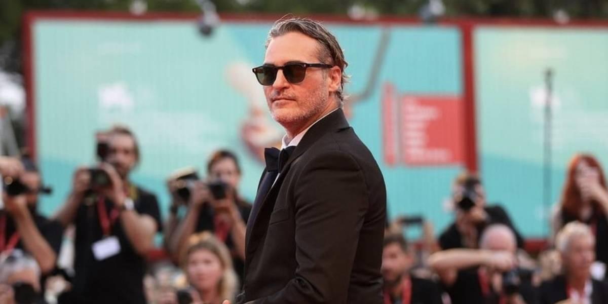 """Joaquin Phoenix es ovacionado durante ocho minutos por su papel de """"Joker"""" en el Festival de Venecia"""