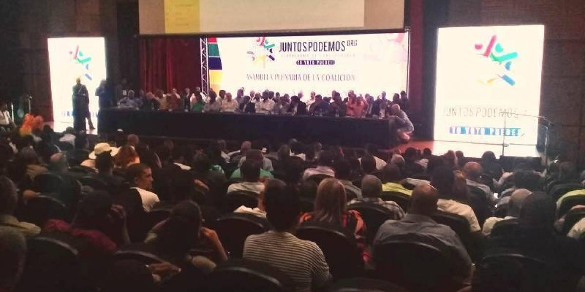 """Coalición """"Juntos Podemos"""" inicia presentación de candidaturas"""
