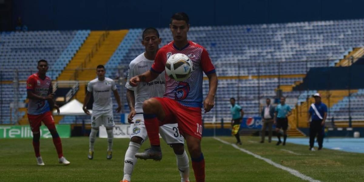 Kevin Santamaría se pronuncia sobre su salida del Deportivo Iztapa