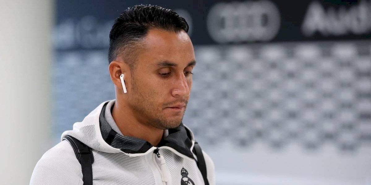 Keylor Navas se despidió de sus compañeros y no vuelve a Madrid