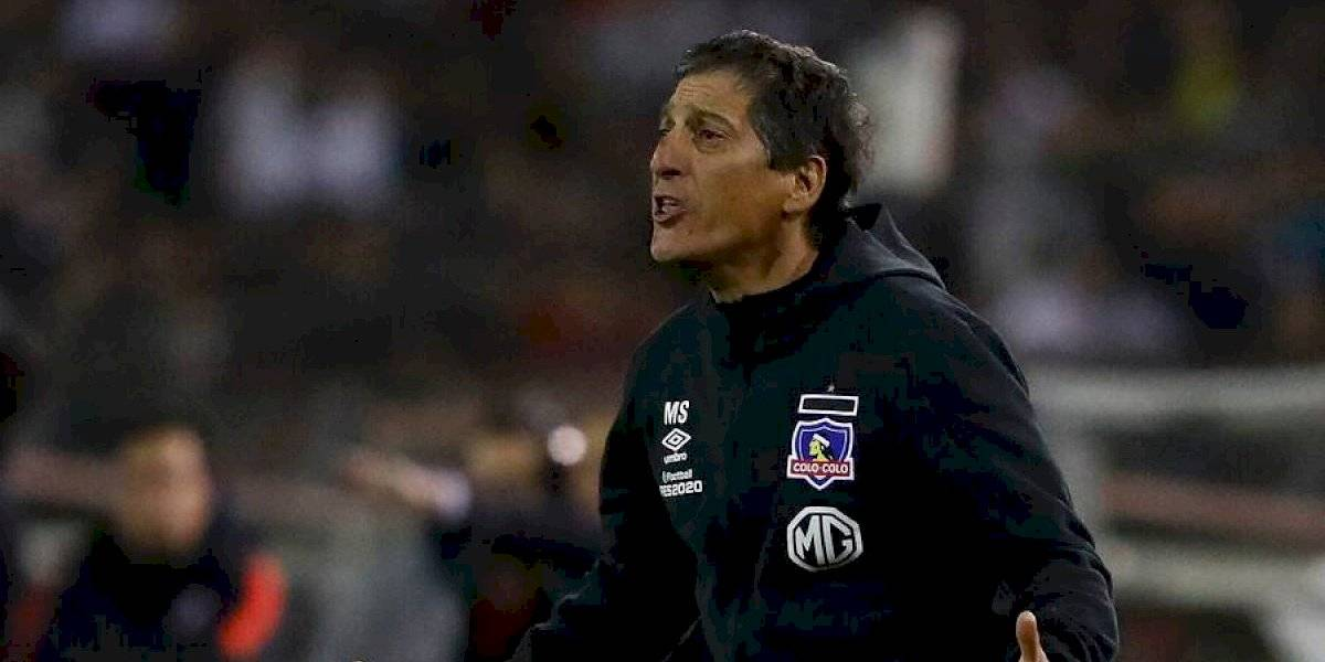 Aníbal Mosa y Marcelo Espina le brindaron su respaldo a Mario Salas dentro del mal presente de Colo Colo