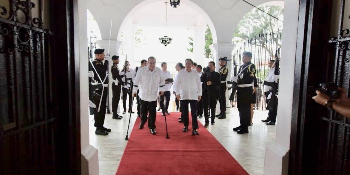 Presidente electo Giammattei se reúne con Cortizo en Panamá