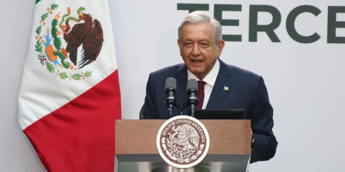 AMLO reconoce actuación de México en Juegos Panamericanos, durante el Informe de Gobierno