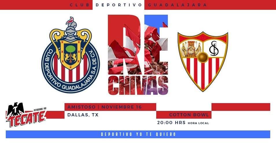 CHIVAS VS SEVILLA