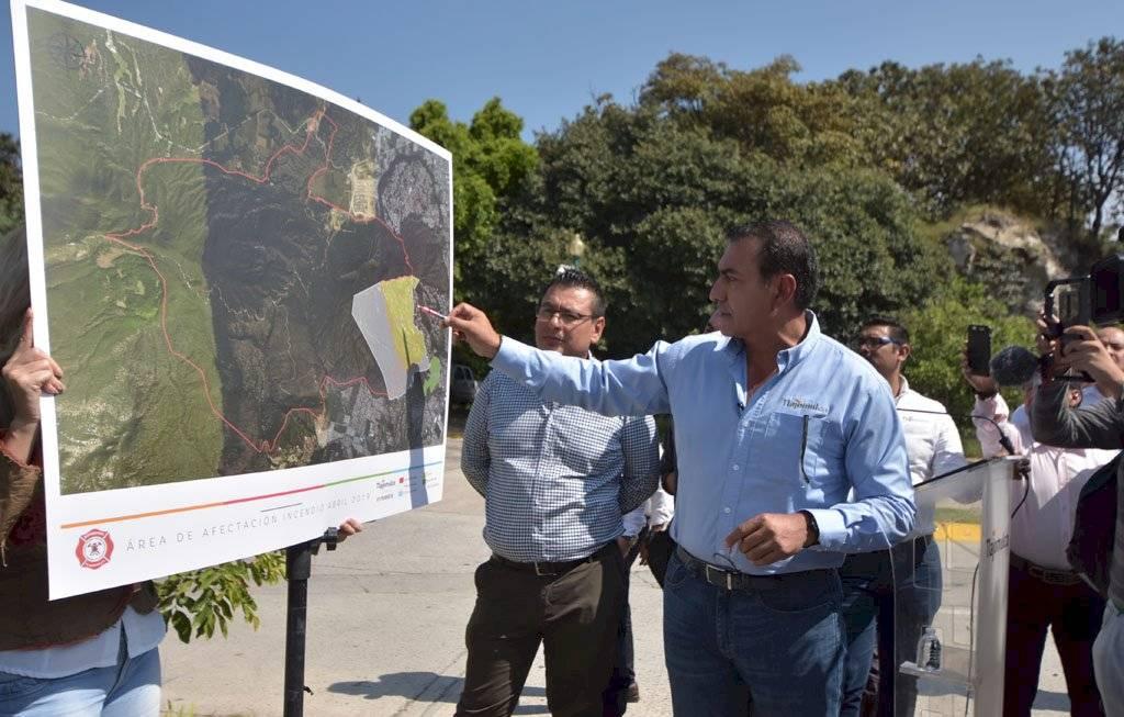 Tlajomulco acusa que voraz incendio en La Primavera tienes trasfondo inmobiliario