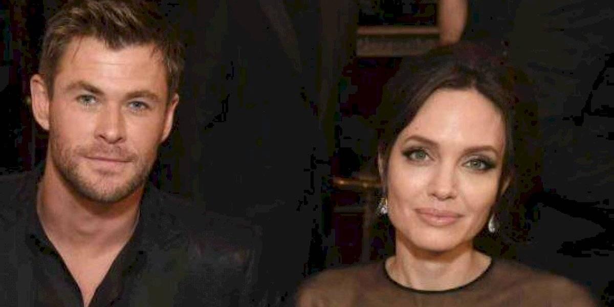 Todo lo que sabemos sobre el supuesto romance entre Angelina Jolie y Chris Hemsworth