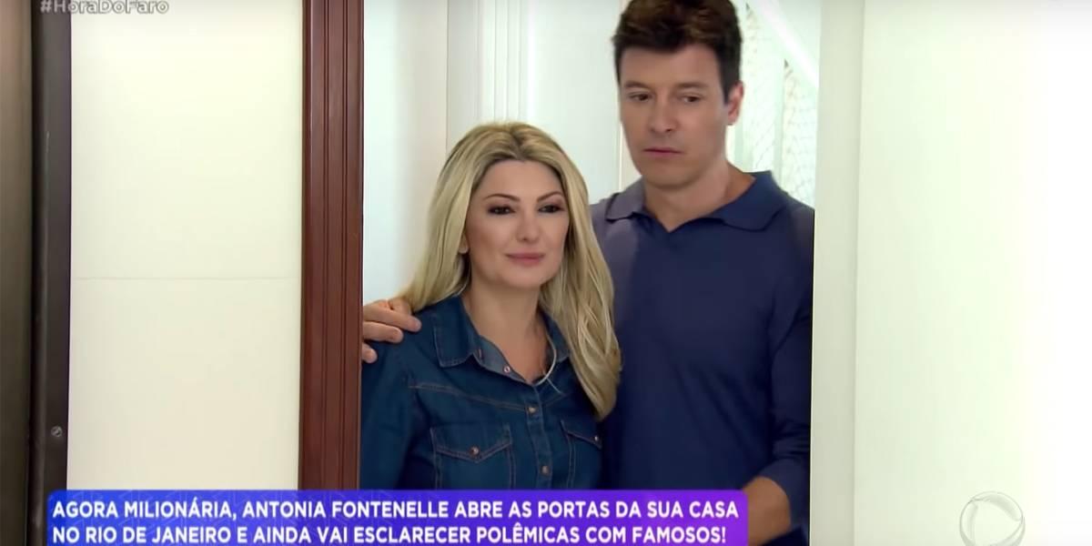 Antonia Fontenelle desabafa sobre morte de ex-marido: 'Era alcoólatra'