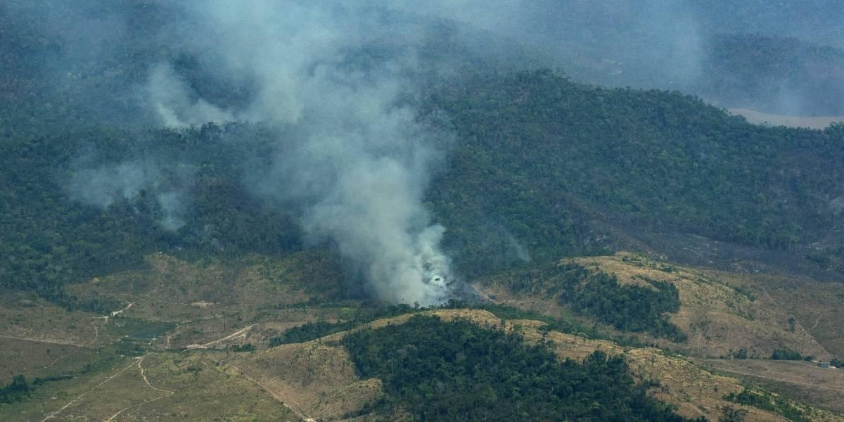 Bolsonaro hablará ante la ONU sobre incendios en la Amazonia