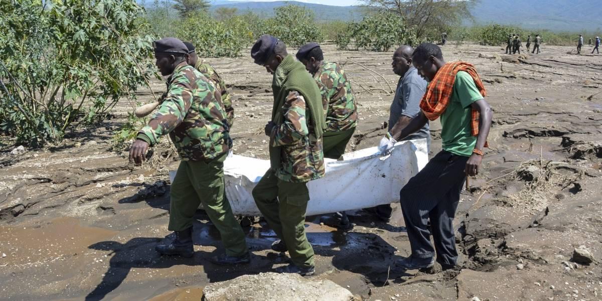 Inundación cobra la vida de siete personas en parque nacional de Kenia
