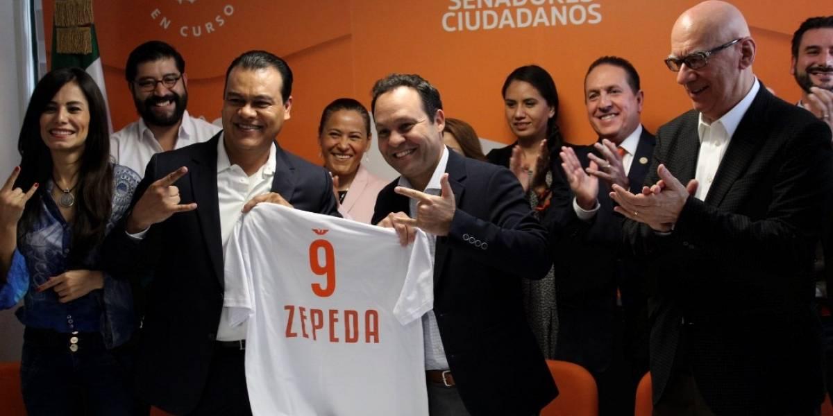 Tras dejar el PRD, Juan Zepeda se une a Movimiento Ciudadano