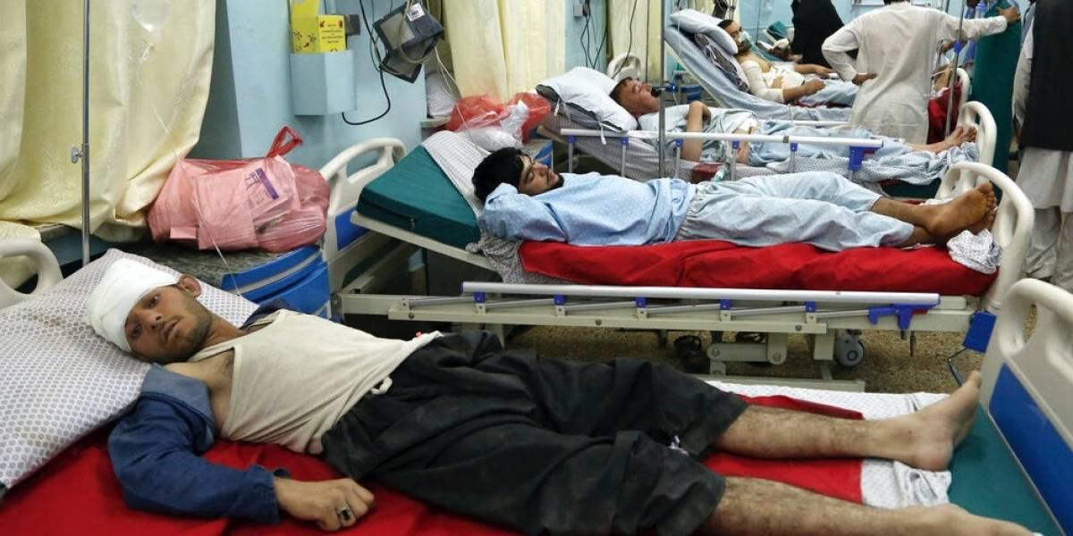 Enorme explosión deja 5 muertos y 50 heridos en Afganistán