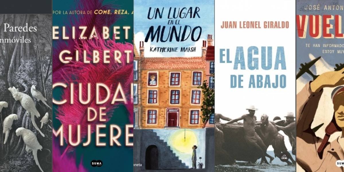 5 libros imperdibles para septiembre