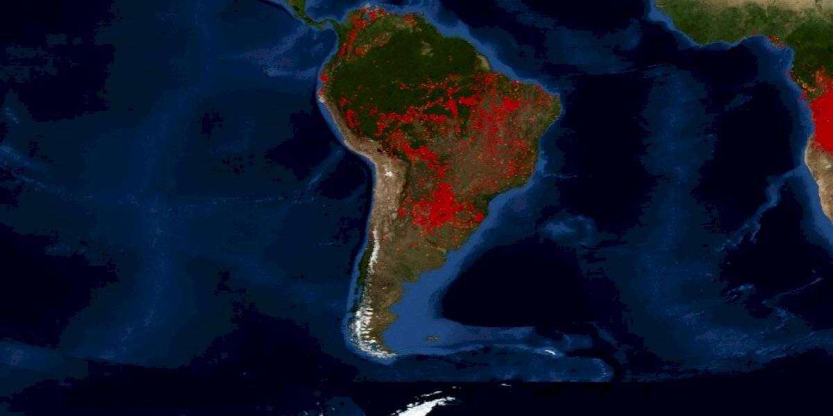 Sigue la catástrofe: dos mil nuevos incendios en la Amazonía 48 horas después de que Brasil prohibiera quemas de tierras agrícolas