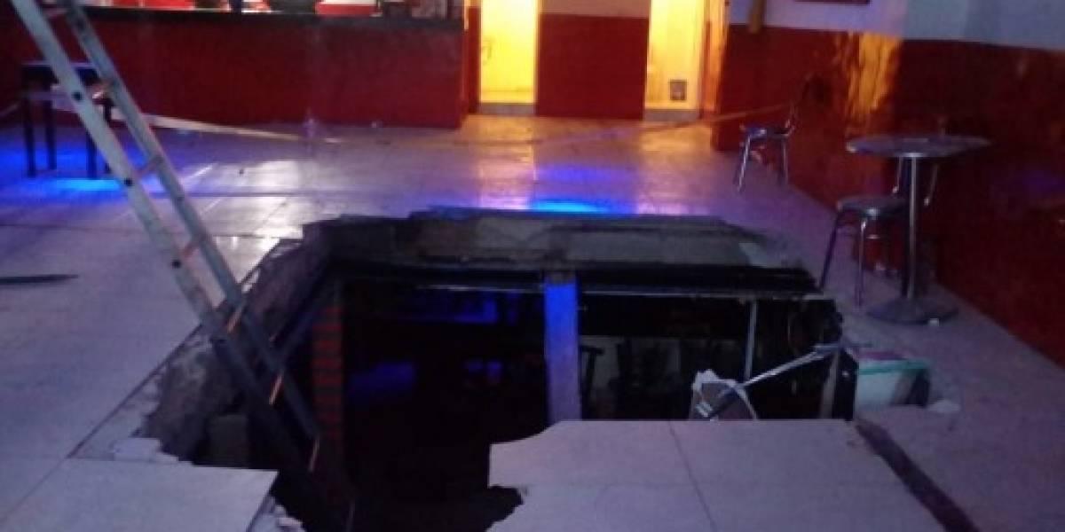 Colapsó techo de una discoteca en Kennedy y seis personas quedaron heridas