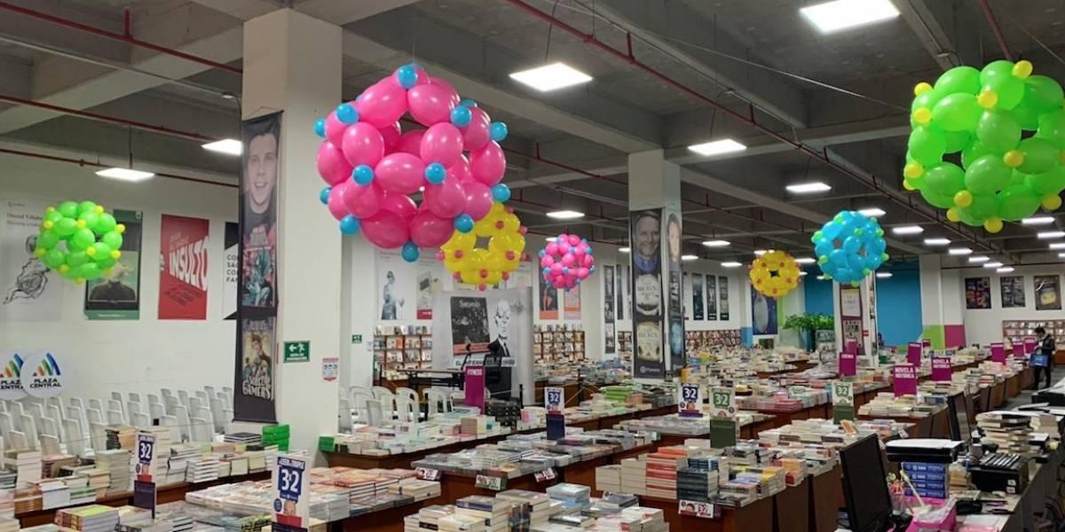 'La gira del millón de libros' vuelve a Bogotá