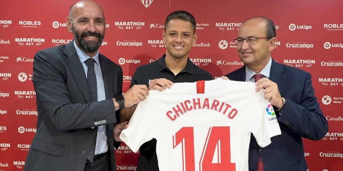 Chicharito llega para ponerle el toque mexicano al Sevilla