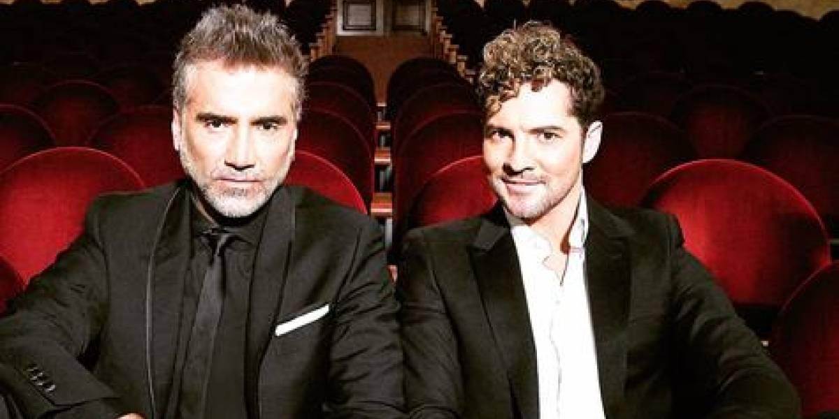 """David Bisbal y Alejandro Fernández grabaron el tema """"Abriré la puerta"""""""