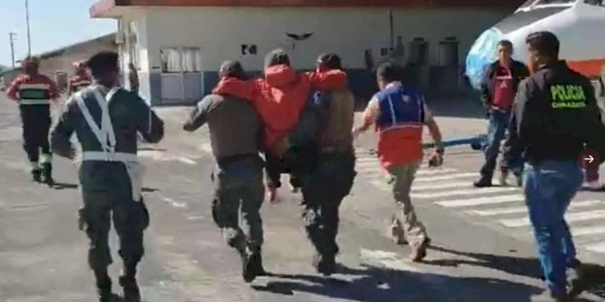 Llanganates: Dos turistas son rescatados tras 20 días de su desaparición