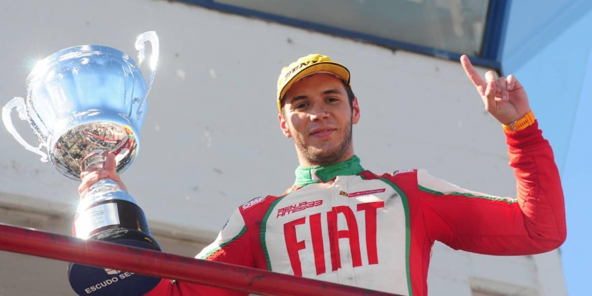 Hites celebra su primera victoria en la Top Race Series argentina
