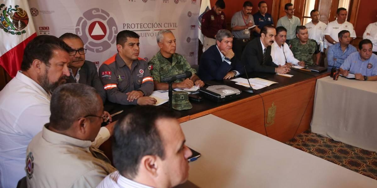 Nuevo León en alerta ante posible ciclón