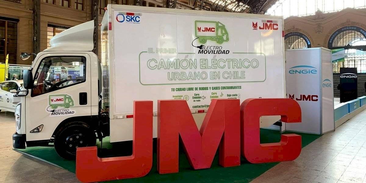 JMC destaca su camión eléctrico en Fidelmov 2019