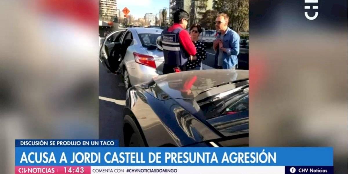 """Jordi Castell desmintió a mujer de 64 años que lo denunció por agresión: """"Le pegué un combo a la puerta del chofer"""""""