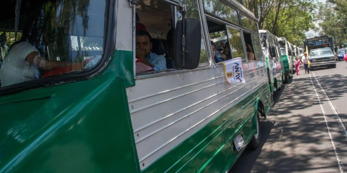 Estas son las vialidades que afectarán las marchas de transportistas en la CDMX