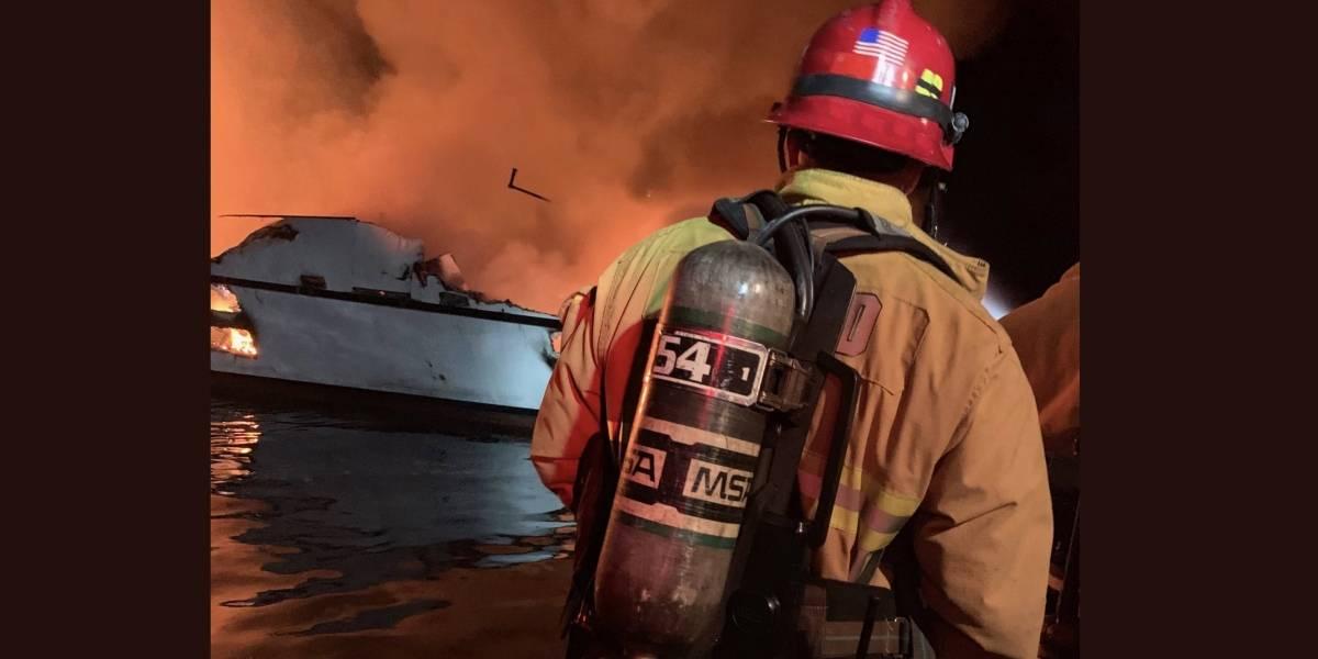 Más de 30 desaparecidos por hundimiento de barco en las costas de California