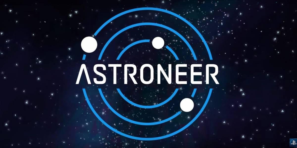 Game Astroneer chega em novembro para PlayStation 4