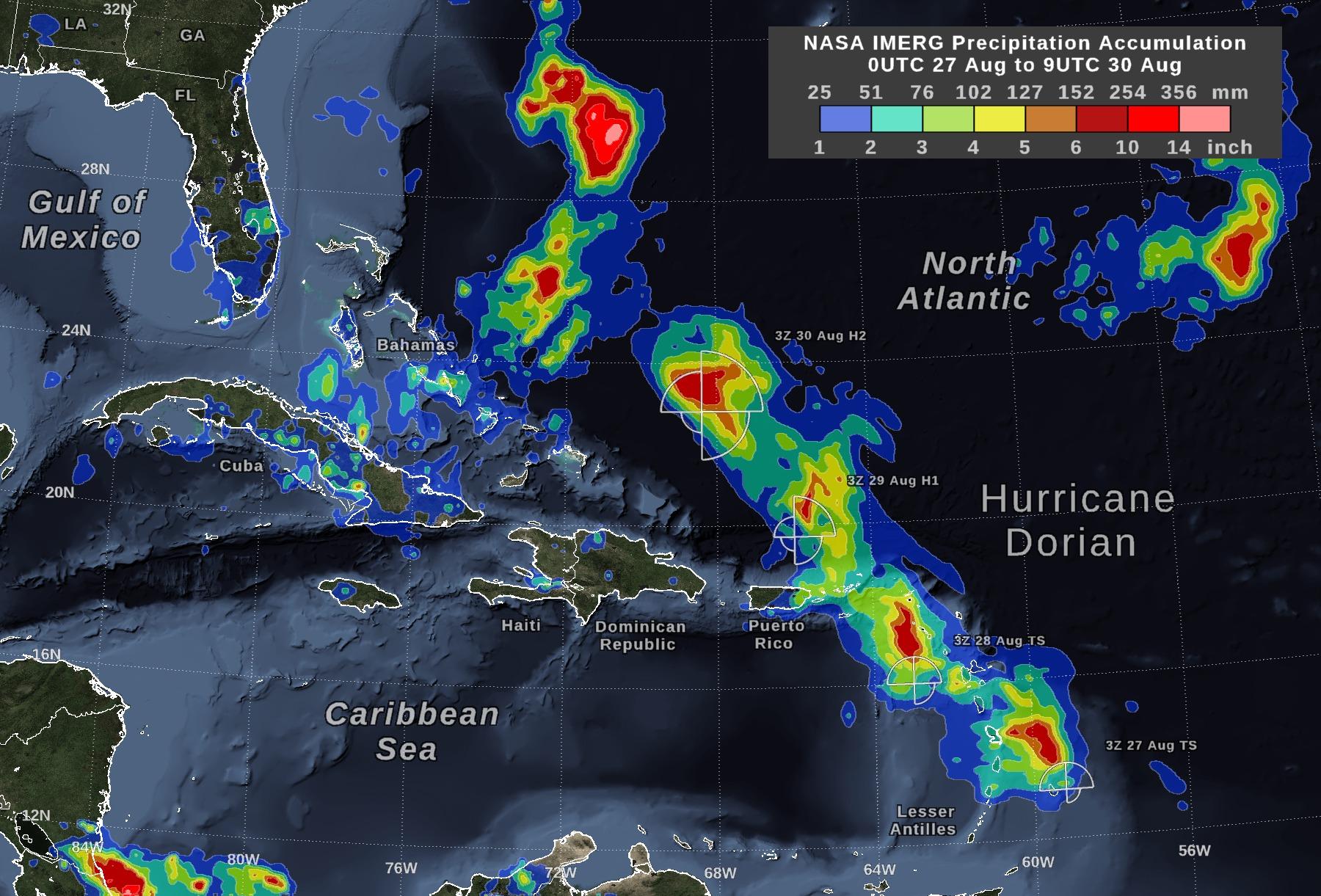 Huracán Dorian: Conoce las primeras imágenes de la destrucción que ha causado el ciclón tropical