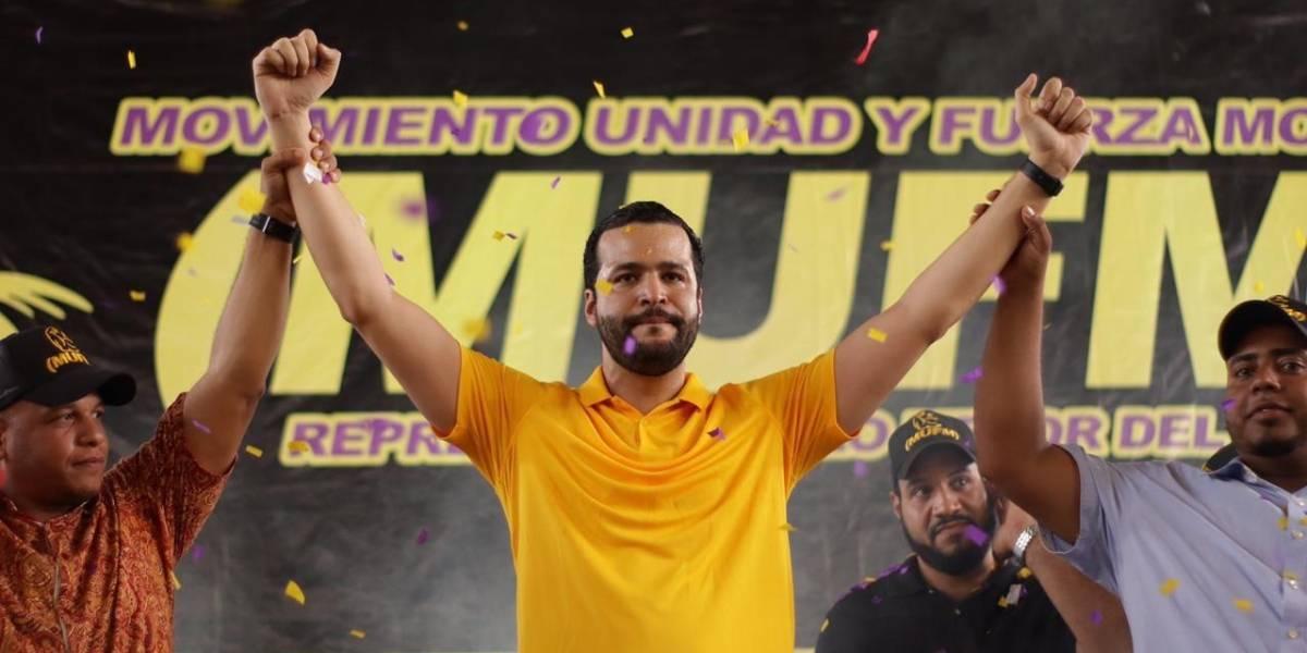 Movimiento Fuerza Morada pasa a apoyar precandidatura a senador de Rafael Paz