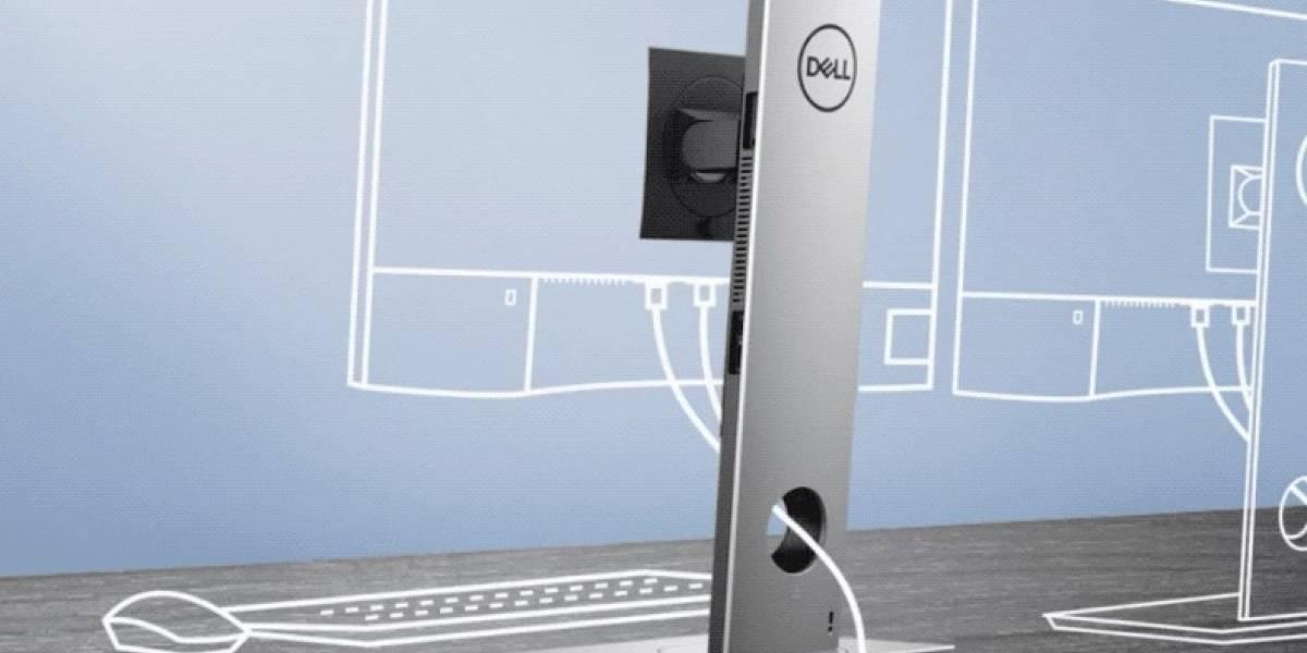 Dell presenta una CPU escondida dentro de la base de monitor