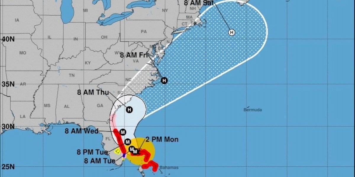 Huracán Dorian azotará a Bahamas por cerca de 10 horas más