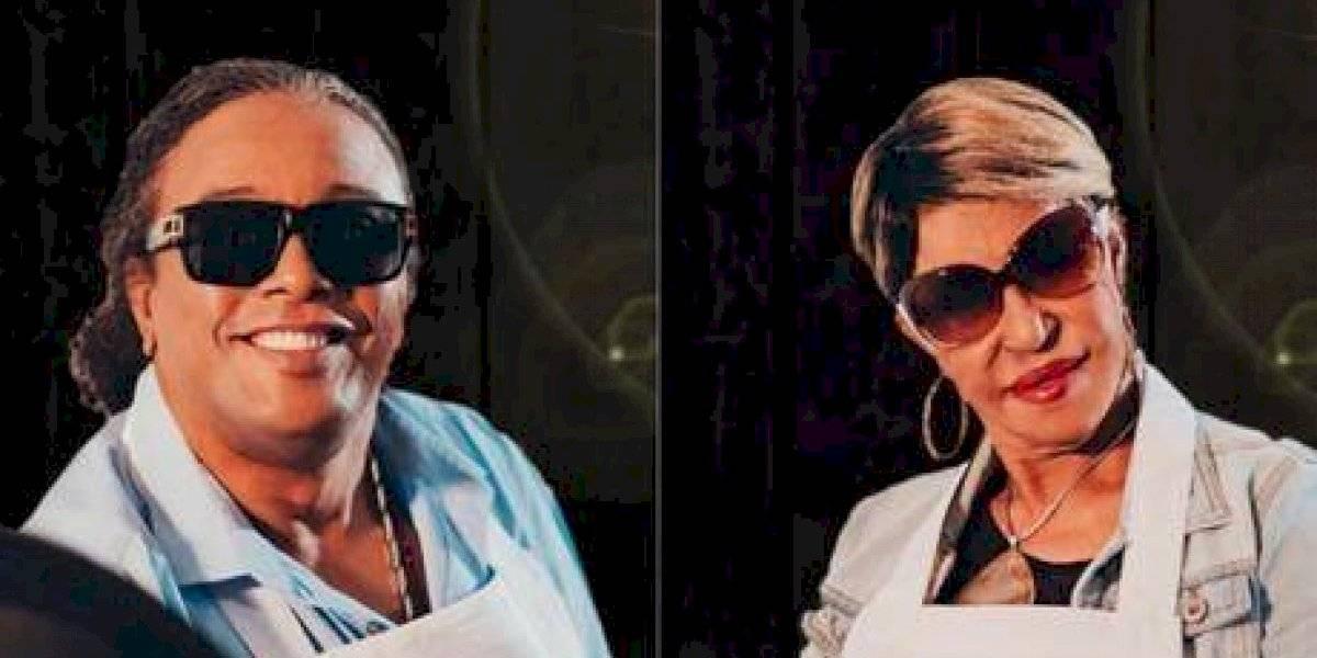 """Fefita y Sergio, primeros artistas que salieron del """"MasterChef Celebrity"""""""