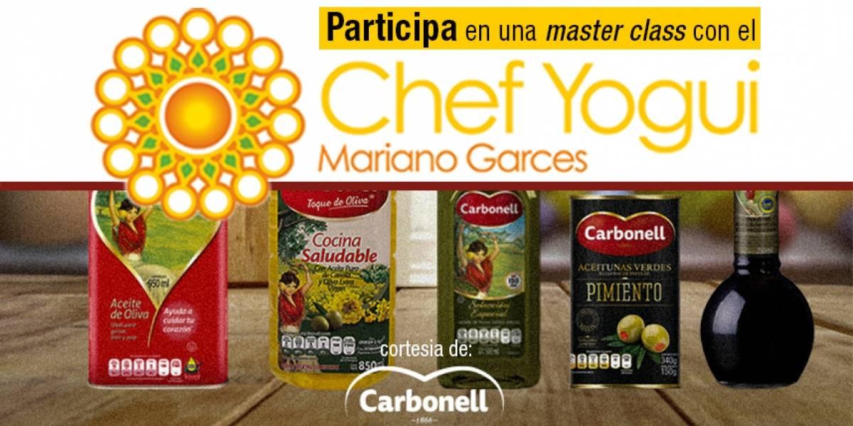 Participa en una master class con el Chef Yogui