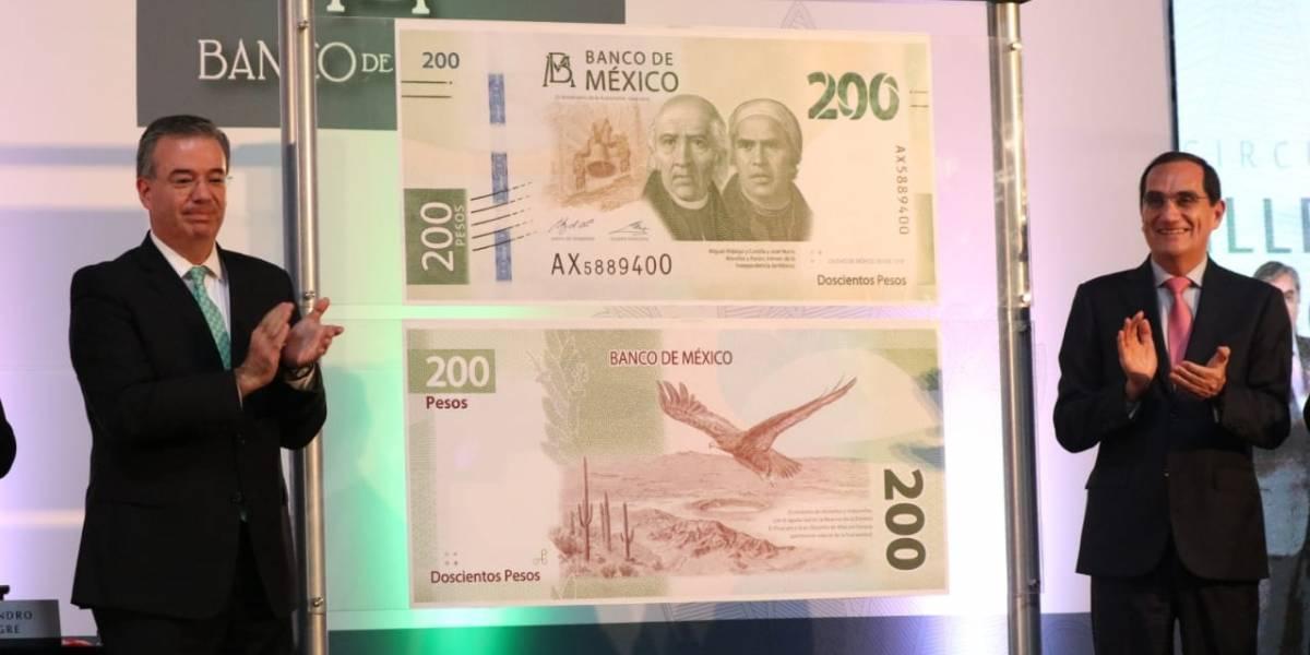 Nuevo billete de 200 pesos ya no tendrá a Sor Juana