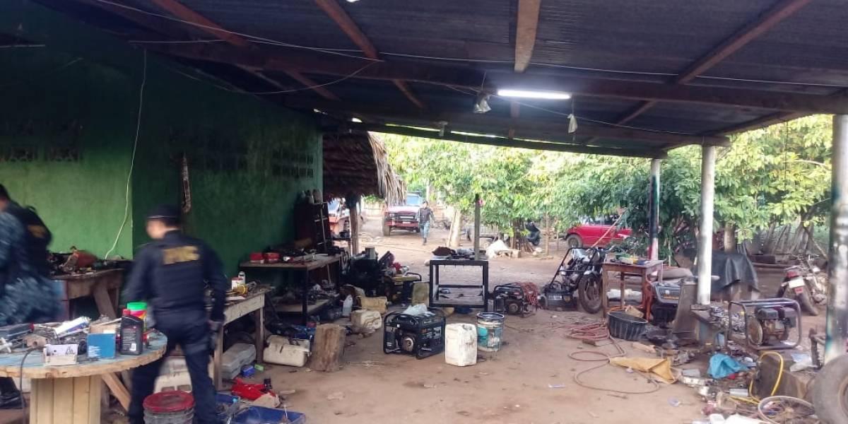 MP sigue investigación por narcoavioneta localizada en Retalhuleu