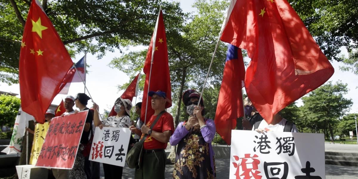 Líder de protestas en Hong Kong pide apoyo de Taiwán