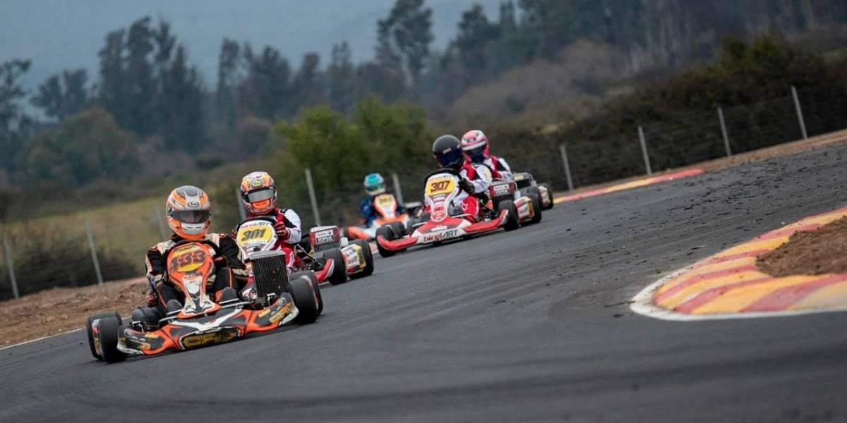 Los chilenos más destacados que verán acción en el inédito Campeonato sudamericano de karting 2019
