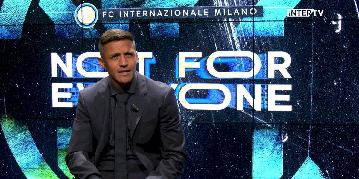 """La ambición de Alexis Sánchez en su llegada al Inter: """"Estoy aquí para ganar y luchar por trofeos"""""""