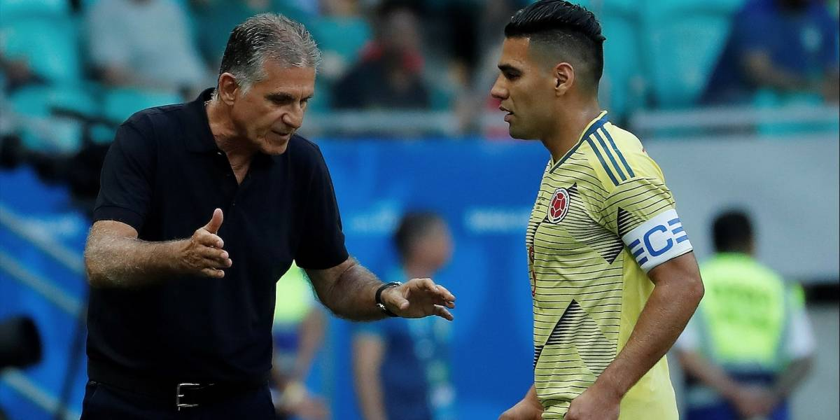 Falcao García le envió un claro mensaje a Carlos Queiroz tras no ser convocado a la Selección
